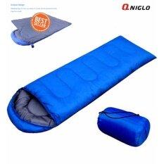 ขาย ถุงนอนสีน้ำเงิน ขนาดกระทัดรัด น้ำหนักเบา พกพาไปได้ทุกที่ Sleeping Bags For Outdoor Easy Carry Waterproof Sleeping Bag Blue ใน กรุงเทพมหานคร