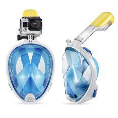 ขาย Mosha Fashions หน้ากากดำน้ำ แบบสวมใส่เต็มหน้า ไม่คาบท่อ Size L Xl สีฟ้า รหัส Sms04 ใน กรุงเทพมหานคร