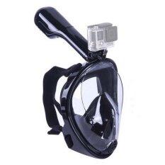 ซื้อ Snorkel Mask Full Face Snorkeling Mask 180 Degree Field Of Vision Dry Snorkel And Anti Fog Technology Free Breathing Design Fit For Kids And Adults (S M Size Intl ใหม่