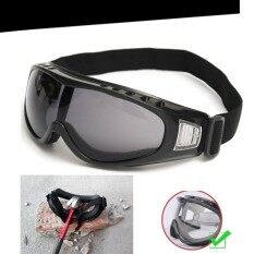 ขาย Snowboard Dustproof Sunglasses Motorcycle Ski Goggles Eye Lens Glasses Eyewear Grey Intl Unbranded Generic ออนไลน์