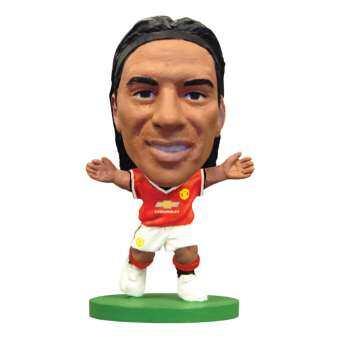 โมเดลนักฟุตบอล SoccerStarz ลิขสืทธิ์แท้จากสโมสรแมนเชสเตอร์ ยูไนเต็ด Man Utd - Radamel Falcao Home Kit (2015 version)