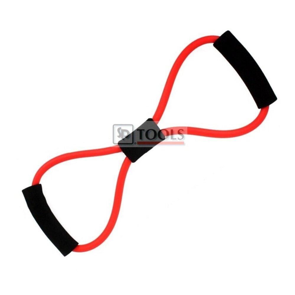 8 shape fitness robe (สีแดง) ยางยืดออกกำลังกาย บริหารกล้ามเนื้อ
