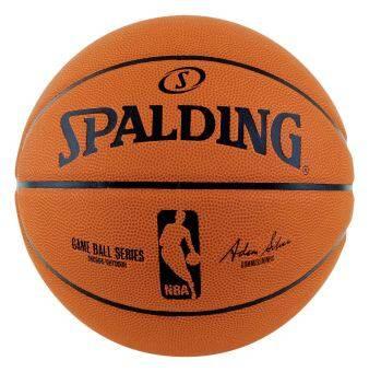 Spalding ลูกบาสNBA GAME BALLแถมฟรี ที่สูบลม Spalding มูลค่า 150 บาท และกระเป๋าสำหรับใส่ลูกบาส