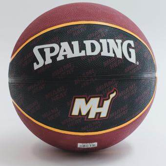 Spalding NBA Team Series MIAMI HEAT (แถมฟรี สูบลม Spalding มูลค่า 150.-)