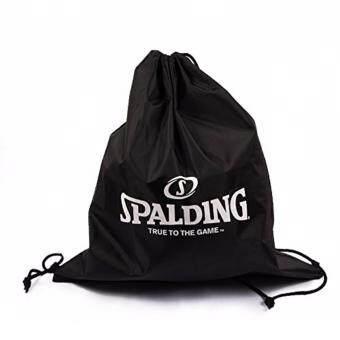 กระเป๋าถุงผ้า Spalding สีดำ ใส่ลูกบาส#6 แบบสะพาย (New)