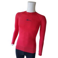 ราคา Speed เสื้อรัดกล้ามเนื้อ แขนยาว คอกลม รุ่น Long Sleeve Red ใหม่ล่าสุด