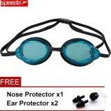 ซื้อ Speedo Swimming Goggles Waterproof Anti Fog Anti Uv Hd Lens Soft Framework Swim Glasses Intl ใหม่