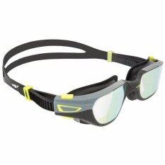 แว่นตาว่ายน้ำรุ่น SPIRIT ขนาด L (สีดำ/เทา เลนส์สะท้อน)