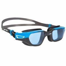 แว่นตาว่ายน้ำ SPIRIT ขนาด S (สีดำ/ฟ้า)