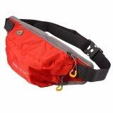 ซื้อ กระเป๋าคาดเอว สำหรับ วิ่งออกกำลังกาย ท่องเที่ยว ช้อปปิ้ง สีแดง ออนไลน์