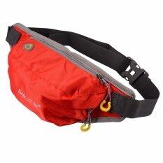 ส่วนลด กระเป๋าคาดเอว สำหรับ วิ่งออกกำลังกาย ท่องเที่ยว ช้อปปิ้ง สีแดง Unbranded Generic