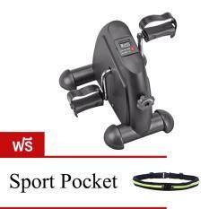 ซื้อ Sport World เครื่องออกกำลังกาย Mini Bike จักรยานออกกำลังกาย แถมฟรี กระเป๋าคาดเอววิ่ง มูลค่า 290บาท สีดำ กรุงเทพมหานคร