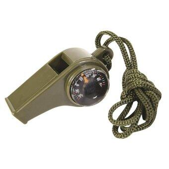 Sporter 3 in 1 Emergency Whistle Contain Compass temperature Display and Whistle