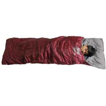 SPORTLAND ถุงนอน ใช้งานได้ 4 แบบ Sleeping Bag 4in1 Poly190T 75x230cm. 200g. รุ่น FRS-205 (มี 3สี)