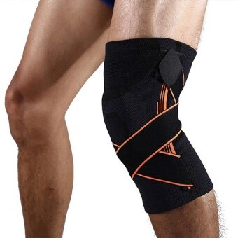 Sports Knee Support Breathable Sleeve Compression Knee Brace For Running Jogging - intl