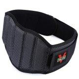 ราคา Sports Outdoors Body Weights Valeo Sponge Nylon Weight Lifting Squat Belt Protect Lumbar Back Waist For Fitness Training Black Intl ถูก