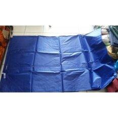 ราคา Srirachacamp ฟลายชีท ผ้าเต็นท์ กันน้ำค้าง 4X6 เมตร สีน้ำเงิน F14 7 เฉพาะผ้า