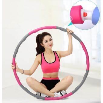 Star family ฮูล่าฮูป แบบลูกคลื่น ลดหน้าท้อง น้ำหนักเบาพิเศษ 1 kg รุ่น HY-009 ( ( Pink )   )