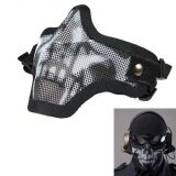 ขาย Strike Metal Mesh Protective Mask Half Face Tactical Airsoft Military Mask Bk1 Intl Unbranded Generic เป็นต้นฉบับ