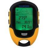 ส่วนลด สินค้า Sunroad Fr500 Multifunction Lcd Digital Altimeter Barometer Compass Thermometer Hygrometer Weather Forecast Led Torch Intl