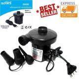 ราคา เครื่องสูบลมไฟฟ้า สำหรับใช้ในบ้าน Suoka ปั๊มลมไฟฟ้า 3 หัว Ac Electric Air Pump สูบลมเข้าและปล่อยลมออก ใหม่