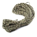 Survival Army Green Camouflage Rope 550 Parachute Cord Paracord 7 Strand Cores Intl Joshelive ถูก ใน จีน