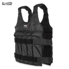 ขาย Suteng 50Kg Max Loading Adjustable Weighted Vest Fitness Training Jacket Black Intl