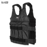ซื้อ Suteng 50Kg Max Loading Weighted Vest Adjustable Jacket Exercise Boxing Training Waistcoat Black Intl ใหม่ล่าสุด