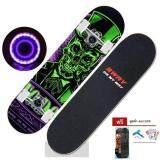 ทบทวน ที่สุด Sway สเก็ตบอร์ด รุ่น Flash Model Mr Skullล้อมีไฟ แถมฟรี ปะแจ กระเป๋าสเก็ตบอร์ด สติกเกอร์ Skateboard