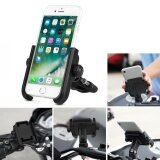 ส่วนลด Sweatbuy Adjustable Motorcycle Bicycle Handlebar Mount Holder Bracket For 4 6Inch Mobile Phone Black Intl Unbranded Generic ใน จีน