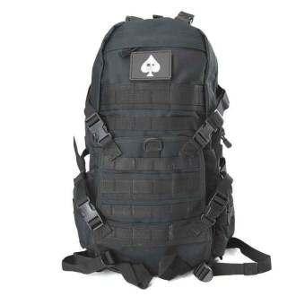 กระเป๋าเป้สะพายหลังT14 Armataขนาด40Lสำหรับเดินป่า ผจญภัย(สีดำ)