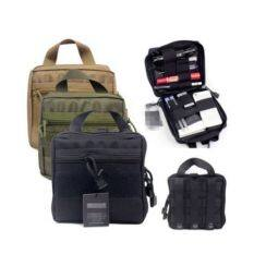 ซื้อ Tactical First Aid Medic Kit Pouch Organizer Utility Bag Pouch Backpack Army Black Color Intl ออนไลน์ จีน