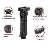 ราคา ราคาถูกที่สุด Tactical Folding Vertical Forward Foregrip Front Hand Grip For Picatinny Rail Intl