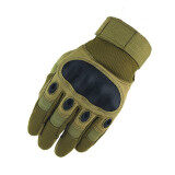 Tactical Gloves Tactical Army Airsolf Shoot Motorcycle Military Full Finger Protective Gloves Men Brown Tap ถูก ใน จีน