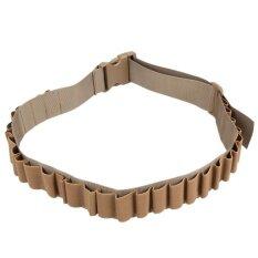 ส่วนลด Tactical Military 29 Round Shell Bullet Carrier Waist Belt Hunting Sling Intl จีน
