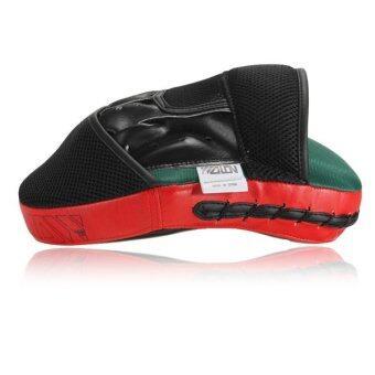 เป้าหมาย MMA เน้นมวยหมัดเบาะนวมซ้อมคาราเต้มวยไทยเตะถุงมือใหม่สีแดง