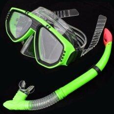 Telecorsa แว่นตาพร้อมท่อหายใจดำน้ำ สำหรับเด็ก รุ่น Goggle4411715a By Mhf Thailand.