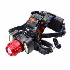 ซื้อ Telecorsa Headlight ไฟฉายคาดหัว 3 หัวไฟ ปรับก้มเงยได้ รุ่น Xq150 Telecorsa เป็นต้นฉบับ