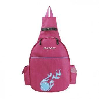 TF High grade waterproof sports bag Single shoulder tennis bag Both shoulders Multifunctional tennis bag (Rose) - intl