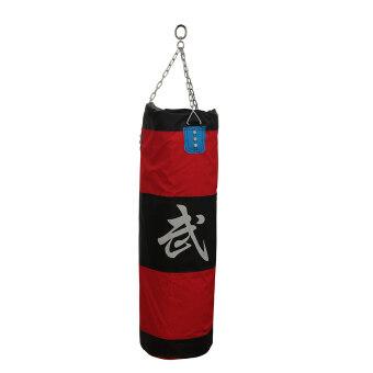 มวยไทยศิลปะการต่อสู้หมัดแย็บหมัดเตะกระเป๋าบุนวม + อุปกรณ์เซ็ตโซ่