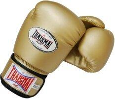 โปรโมชั่น Thaismai นวมชกมวย Bg 124 Boxing Gloves Pu Special Color Gold ไทย