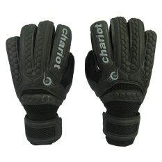โปรโมชั่น ถุงมือผู้รักษาประตู Chariot 7006 Finger Save Glove ดำ เบอร์ 8