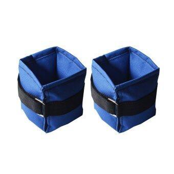 ถุงทรายข้อเท้า ถุงถ่วงน้ำหนักข้อเท้า 2 LB (1.0 kg) (สีน้ำเงิน) ankle / wrist weight