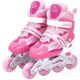 Tmall รองเท้าสเก็ต โรลเลอร์เบลด Roller Blade Skate รุ่น L 38 41 Pink ใน ไทย