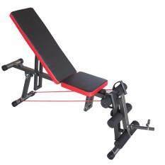 ราคา ราคาถูกที่สุด To Fit To Firm ม้าดัมเบลปรับระดับ เก้าอี้ยกน้ำหนัก ยกดัมเบล รุ่น Mermaid สีดำ
