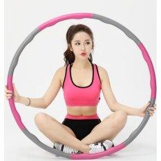 Togo Shop ฮูล่าฮูป แบบลูกคลื่น ลดหน้าท้อง น้ำหนักเบาพิเศษ 1 Kg รุ่น La-001 ( Pink )  .