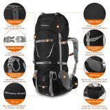 ราคา Tomshoo Backpack 70 5L Outdoor Sport Water Resistant Internal Frame Backpack Backpacking Trekking Bag With Rain Cover For Climbing Camping Hiking Travel Mountaineering Intl ถูก
