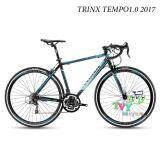 ส่วนลด Trinx จักรยานเสือหมอบ รุ่น Tempo1 2017 Size 46 สีดำ น้ำเงิน Trinx ใน Thailand