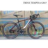 Trinx จักรยานเสือหมอบ รุ่น Tempo1 2017 Size 50 สีดำ แดง ขาว เป็นต้นฉบับ