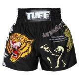 โปรโมชั่น Tuff Muaythai Shorts Ancient Tiger Black Tuff Sport